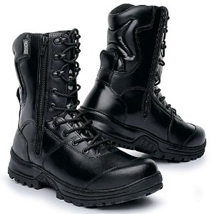 Bota Militar Masculina Em Couro Legitimo Rafale 8100