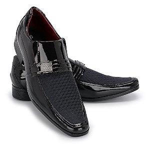 Sapato Social Masculino Em Verniz Eurofex 010