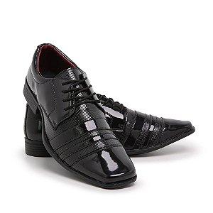 Sapato Social Masculino Em Verniz Schiareli 840