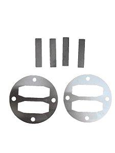 Reparo De Válvulas Para Compressor De Ar 10RED/10BLUE/10REX.T Chiaperini
