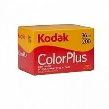 Filme fotográfico Kodak colorplus 36 Poses Asa 200