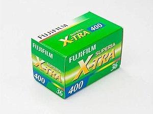 Filme Fujifilm Superia X-tra 36 Poses Asa 400 Colorido