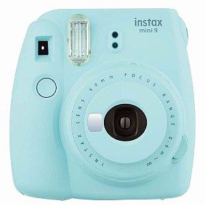 Camera Instax Mini 9 Instantanea Azul Aqua Fujifilm