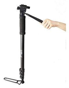 Monope Camera Dslr Vídeo Weifeng Wt 1005 1,80m Suporta 3kg
