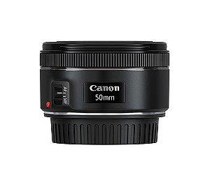 Lente Canon EF 50mm 1.8 STM