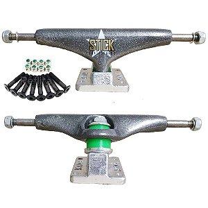 Truck De Skate Stick 139mm + Parafuso De Base