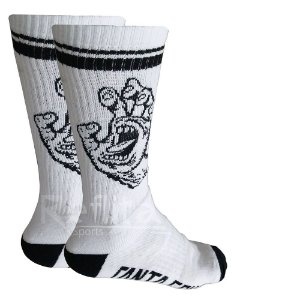 Meia Santa Cruz Screaming Sock Cano Longo