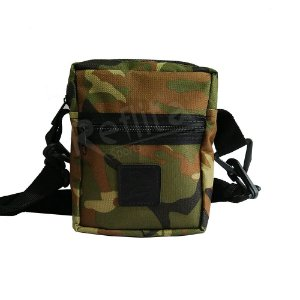 Shoulder Bag Cisco Skate Black Camuflada