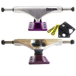 Truck Crail Solid Logo Purple 136mm