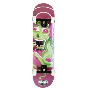 Skate Iniciante Solo Monster Purple