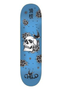 Shape Child Marfim Japan Skull Blue 8.0