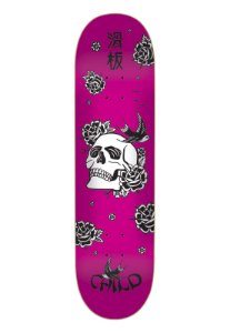 Shape Child Marfim Japan Skull Pink 7.9