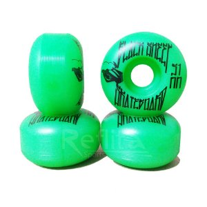 Roda Black Sheep 51mm - 99A - Verde