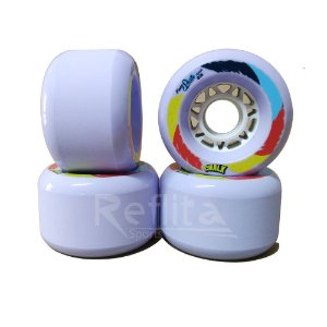 Roda Longboard Freeride Face Skate Chalk 70mm 83A - Roxa