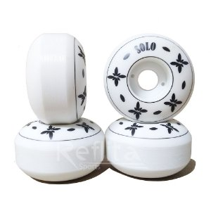 Roda Solo Skateboards 52mm 92A Logo