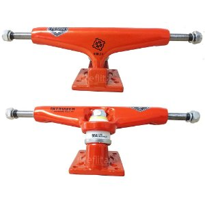 Truck Intruder Noble Séries - Orange Neon - 139mm Mid