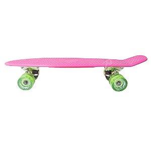 Skate Mini Cruiser -Hondar- Rosa/Verde