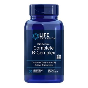 BioActive Complete B-Complex 60 Cápsulas Vegetarianas - Life Extension (PRONTA ENTREGA NO BRASIL)