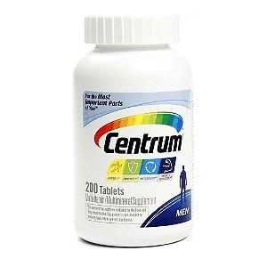Centrum MEN - 200 tabletes  - Ideal para Homens até 50 anos - FRETE GRÁTIS
