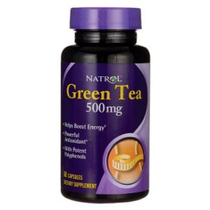 GREEN TEA - Chá Verde 500 mg - Natrol - 60 cápsulas
