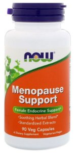Fórmula para Menopausa - Now Foods - 90 cápsulas