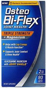 Osteo Bi-Flex Triple Strength + Magnésio - 80 Tablets