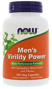 Men´s Virility Power - Now Foods - 120 cápsulas