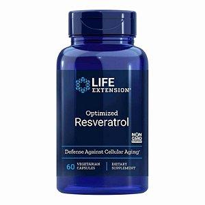Resveratrol otimizado, Life Extension 250mg, 60 Cápsulas Vegetarianas