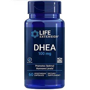Prasterona 100 mg - Life Extension - 60 cápsulas