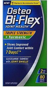 Osteo Bi-Flex Joint Health Herbal Formula with Turmeric - 80 cápsulas