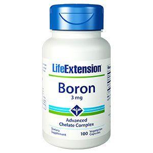 Boro 3 mg - Life Exension - 100 Cápsulas