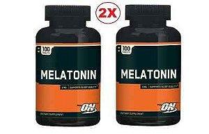 Melatonina 3 mg - Optimum Nutrition - 200 tabletes (Envio Internacional) Frete Grátis