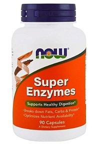 Super Enzimas - Now Foods - 90 cápsulas