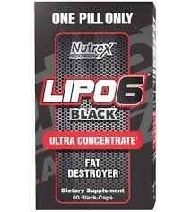 Lipo 6 Black Ultraconcentrado Nutrex 60 cápsulas - O Original!