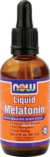 Melatonina Líquida 3 MG - Now Foods - 59 mL - Frete Grátis