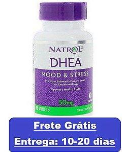 DHEA 50 mg - Natrol - 60 comprimidos (Envio Internacional)
