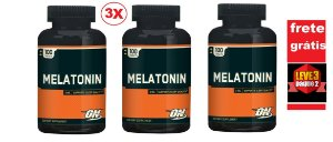 Melatonina 3 mg - Optimum Nutrition - Total 300 tabletes (Envio Internacional)