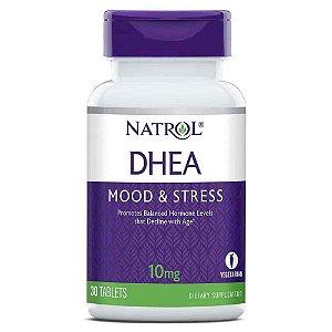 DHEA 10 mg - Natrol - 30 Tablets - Frete Grátis