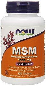 MSM 1500 mg - Now Foods - 120 Cápsulas