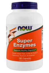Super Enzimas - Now Foods - 180 cápsulas