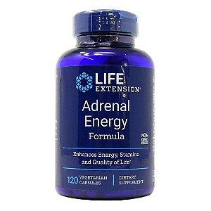 Fórmula de Energia Adrenal - 120 Cápsulas - Life Extension (PRONTA ENTREGA NO BRASIL)