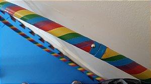 Bambolê Arco-íris - Colapsável - Bambolê Profissional