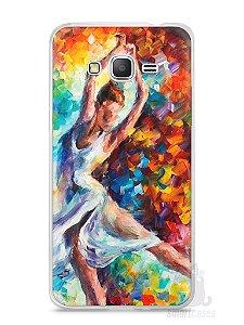 Capa Samsung Gran Prime Bailarina Pintura