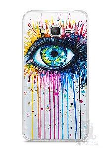 Capa Samsung Gran Prime Olho Pintura