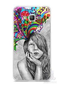 Capa Samsung Gran Prime Menina Sonhadora