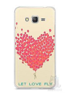 Capa Samsung Gran Prime Deixe o Amor Voar