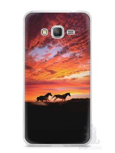 Capa Samsung Gran Prime Cavalos #1