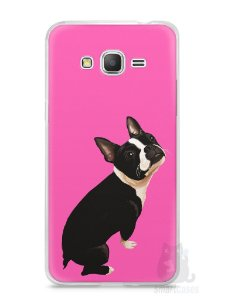 Capa Samsung Gran Prime Cachorro Boston Terrier