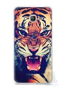 Capa Samsung Gran Prime Tigre Feroz