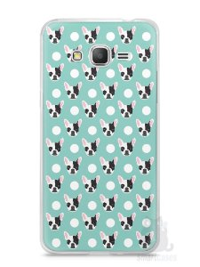 Capa Samsung Gran Prime Cachorros Bulldog Francês